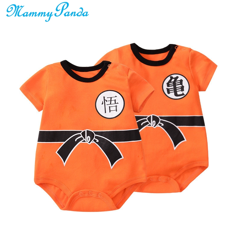 MPANDA Dragon Ball Baby Rompers SON GOKU Turtle fairy Baby Boy Clothes Newborn Girls Jumpsuit Infant Toddler Clothing Body Suit
