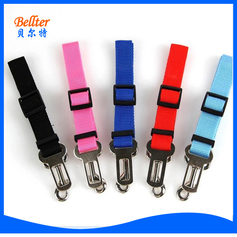 [New Style] Pet For Automobile Safety Belt Car Mounted Dog Safety Belt Safety Rope Traction Belt