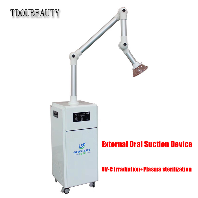 Mobile External Oral Suction Device With Activated Carbon + HEPA Filter Laboratory Oral Odor, Bacteria Sterilization Equipment