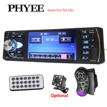 Rádio 1 Din Carro Bluetooth 4