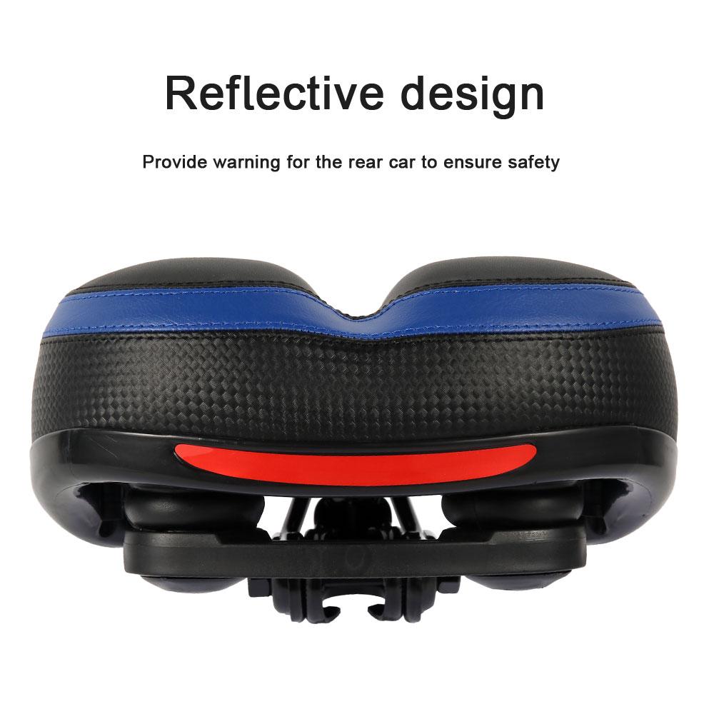 Cushion - Comfortable Wide Big Bum Bike Bicycle Gel Extra Sporty Soft Pad Saddle Seat