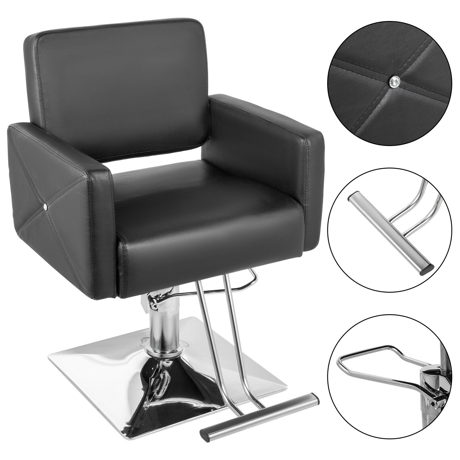 Salon Chair Classic Hydraulic Barber Hair Styling Beauty Spa Shampoo Equipment