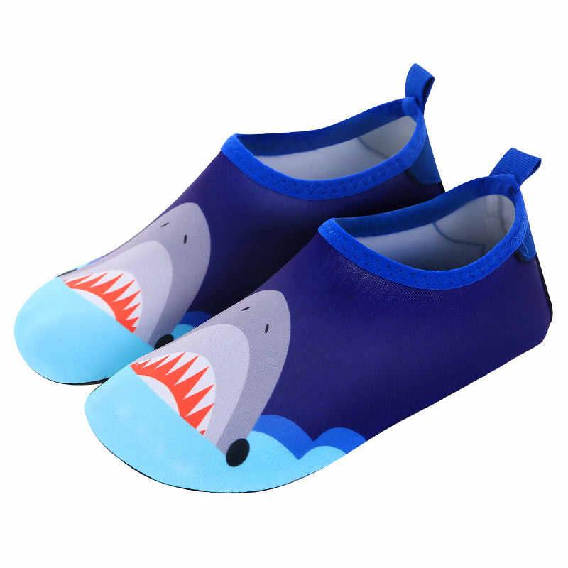 Chłopcy dziewczęta szybkie suszenie pływać buty do wody dla dzieci zwierząt Colorfur buty z palcami dla dzieci buty dla dzieci basen dla dzieci kapcie szybkie Dryi