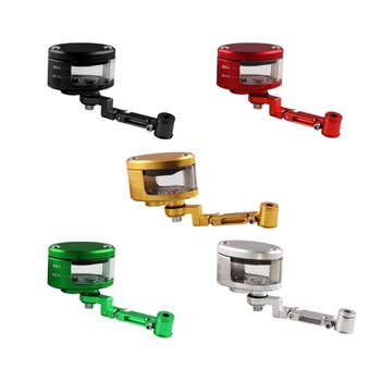 Cnc Brake Clutch Master Cylinder Fluid Reservoir Tank Oil Cup Motorcycle Prevent Leakage Smooth Surface