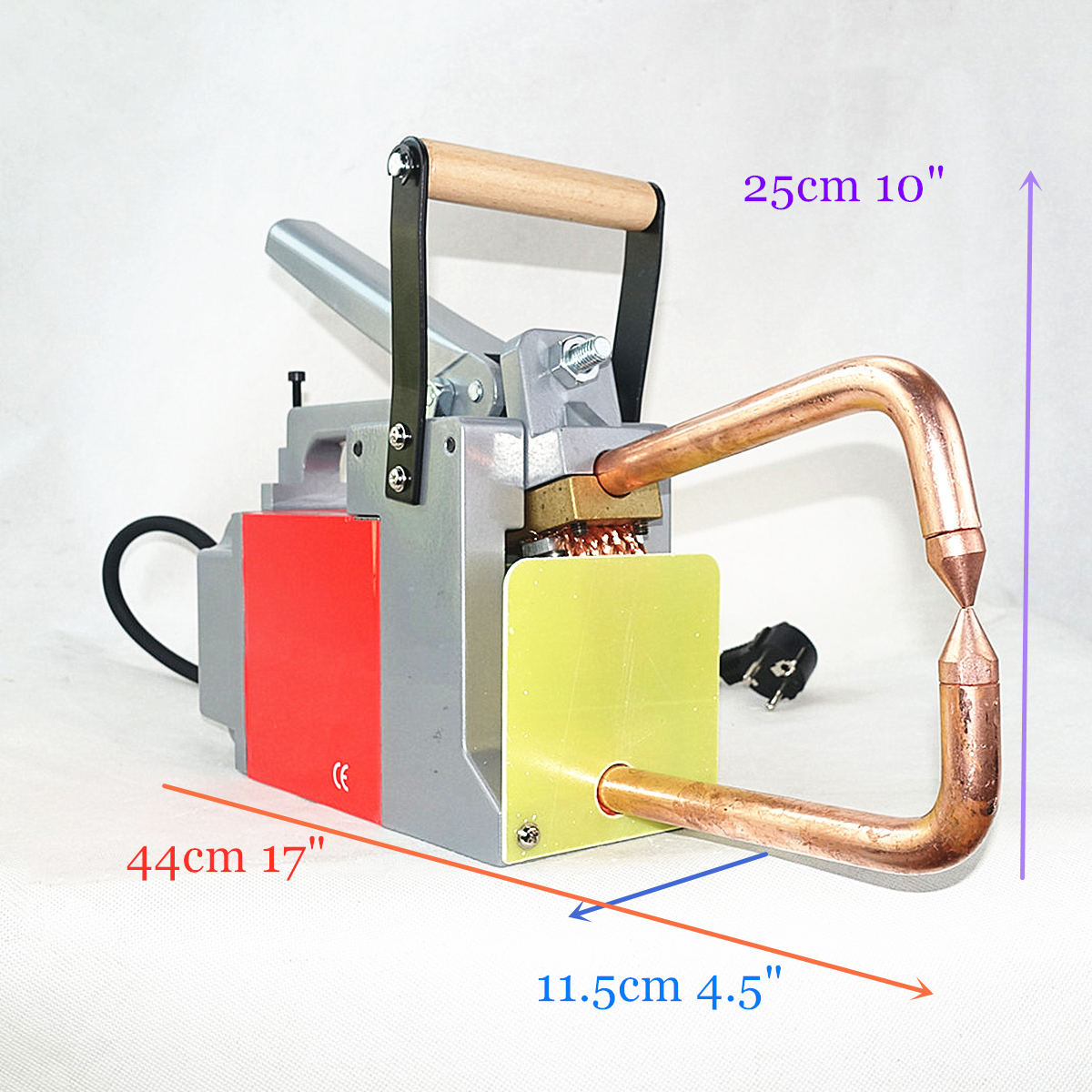 Spot Welder 110v 230V 1 5 1 5mm Steel Plat Joint CE UL Portable Resistance Spot Welding Machine