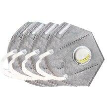 4 teile/satz N95 PM 2,5 Atemschutz Gesicht Maske Anti Grippe Prävention Staub Pm 2,5 Filter Atmen Ventil Mund Masken