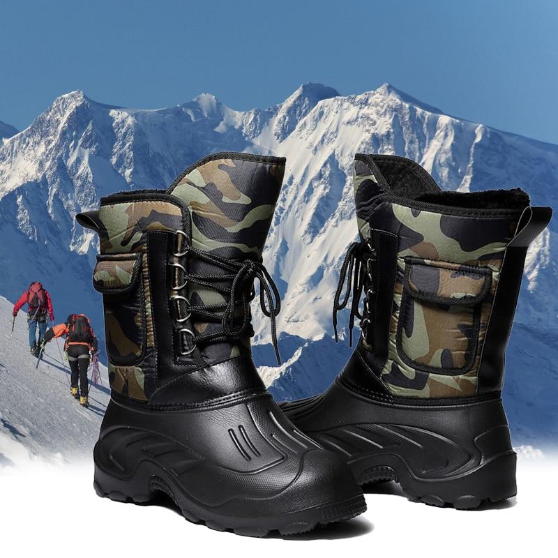 sapatos de pesca de inverno a prova dwaterproof agua botas de borracha de pesca antiderrapante mais