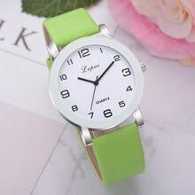 Lvpai – montre-Bracelet en cuir à Quartz pour femmes, analogique, de luxe, 2020