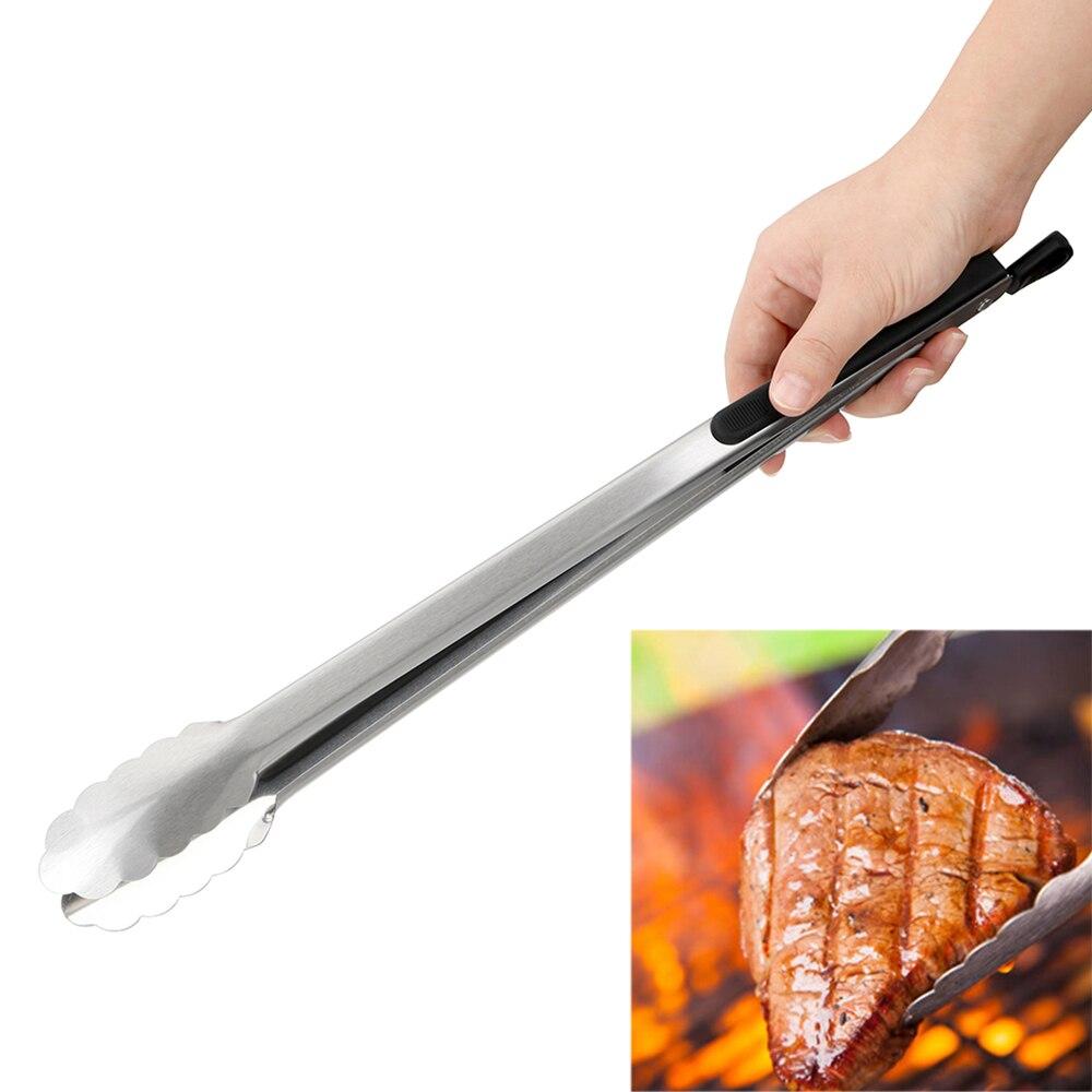 Pince à nourriture pour salade Barbecue pince à BBQ outils de cuisine en acier inoxydable outils de gril multifonctions