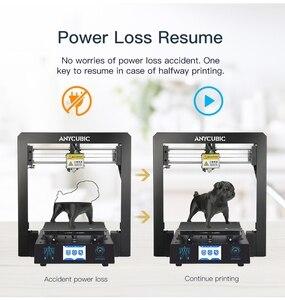 Image 3 - ANYCUBIC 3D מדפסת ערכת I3 מגה עם 1Kg PLA נימה TFT צבע מסך מגע החדש הדפסת DIY סט 3d דרוקר impresora 3d