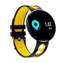 цена Smart Bracelet Color LCD Monitor IP67 Heart Rate Blood Pressure Counter Step Waterproof Sports Pedometer Calorie Bracelet AS99 онлайн в 2017 году