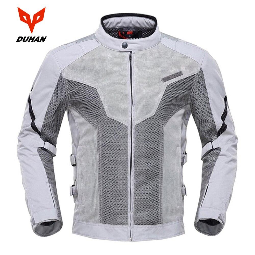 DUHAN Sommer Männer Motorrad Touring Racing Jacke Mantel Atmungsaktives Mesh Tuch Motocross Off-Road Motorrad Street Racing Kleidung