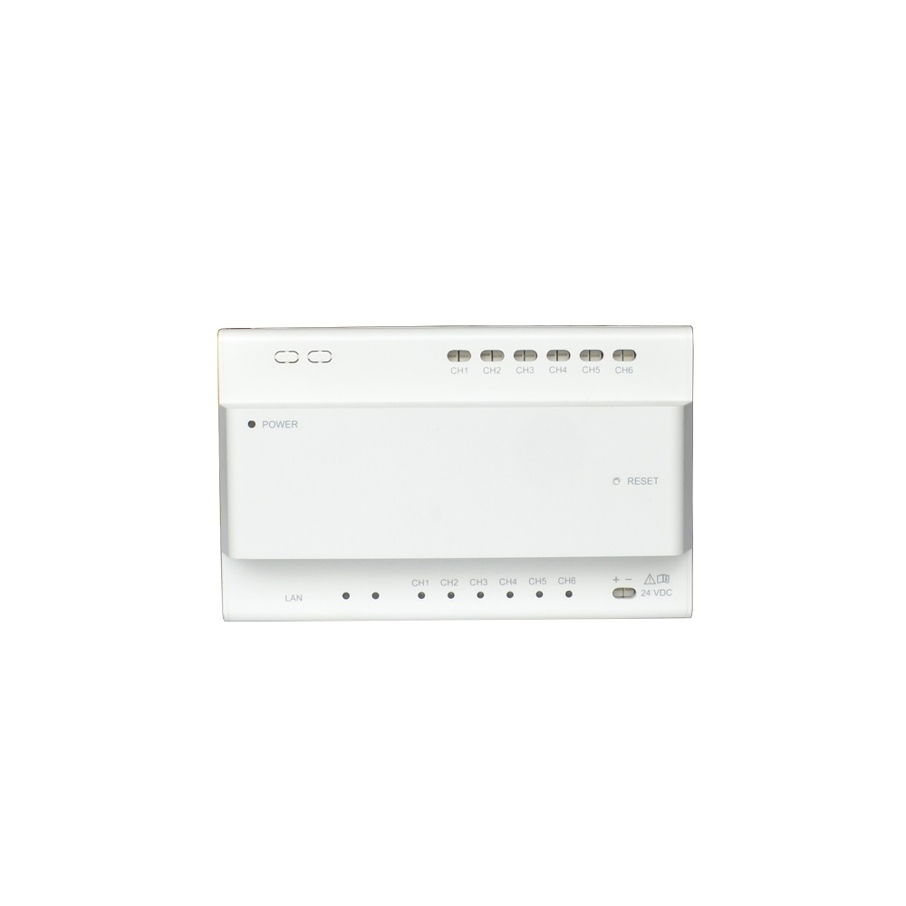 HIK Original International Version DS-KAD706 Video Intercom Accessory 2-Wire Network Controller