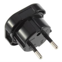 Новый универсальный 2 pin ac Мощность штекер адаптера переменного
