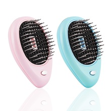 obecilc Electric Hair Comb Ionic Hairbrush Negative Ions Hair Comb Brush Hair Modeling Styling Magic Hairbrush Relief Massager portable electric ionic hairbrush takeout mini hair brush comb massager small