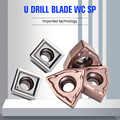 YOUSCARD 10Piece U drill blade Sumitomo Same Quality WCMX040208 WCMT050308 WCMT06T308 SPMG050204 SPMG060204 carbide inserts