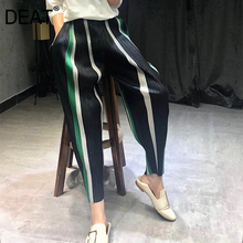 Trousers WJ06001 Loose Striped