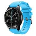 Ремешок силиконовый для Samsung Galaxy Watch 46 мм 42 мм, спортивный браслет для Gear S3 Frontier/Classic active 2 Huawei, 22 мм 20 мм