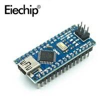С Загрузчиком совместимый контроллер Nano 3,0 ATMEGA328 для USB-драйвера arduino CH340 16 МГц, без USB-кабеля
