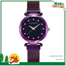 The same paragraph red star watch ladies fashion trend waterproof new Korean version of the simple female student wu s new ladies watch waterproof fashion watch female students version of the simple casual trend quartz watch 2018