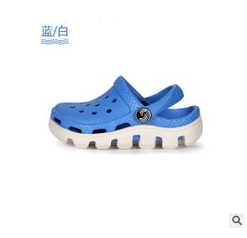 2-10y Kids Mules & Clogs Summer Eva Boys Girls Flat Sandals Breathable Soft Bottom Hollow Fashion Children's Beach Shoes Ly30 - As picture, 2.5