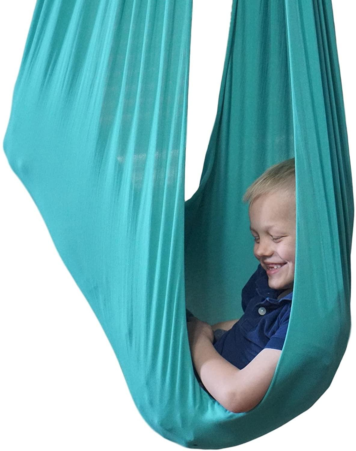 Therapy Swing For Kids/Child/Teens W/More Special Needs Cuddle Hammock Ideal For Autism ADHD Aspergers And Sensory Integration