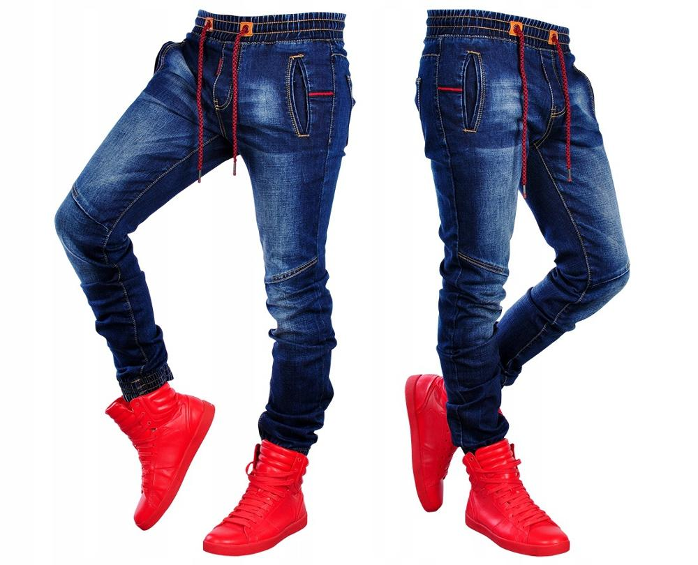 Men's Black Streak Jeans Jogging Tightness Cowboy Trousers Slim Joggers Stretch Male Jean Fashion High Quality Casual Cotton Je