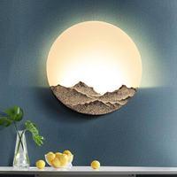 Simples luz de parede quarto lâmpada cabeceira escritório escada decoração do corredor arandela luzes clh @ 8 Luminárias de parede     -