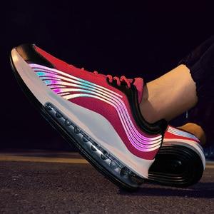 Image 3 - Tend Air Cushion Zapatillas deportivas para hombre, zapatos de malla informales, transpirables, para correr, con cordones, Tenis masculinos