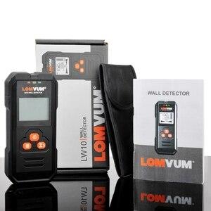 Image 5 - Lomvum Multi Functionele Digitale Metalen Muur Detector Bedrading Hout Ac Voltage Live Handheld Lcd scherm Stud Finder