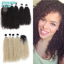 Synthetic-Hair-Bundle Closure with Water-Wave Long-Hair-Extension Natural-Color High-Temperature-Fiber