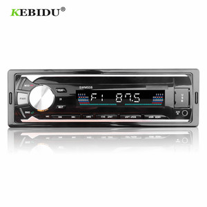 Image 1 - KEBIDU Car Radios Stereo Remote Control Digital Bluetooth Audio Music Stereo 12V Car Radio Mp3 Player USB/SD/AUX IN FM Receiver