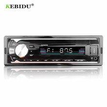 KEBIDU Radio estéreo con Bluetooth para coche, Radio con mando a distancia, estéreo, música, reproductor Mp3, USB/SD/AUX IN, receptor FM