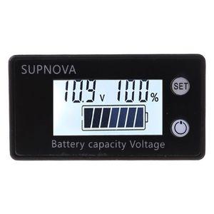 Battery Capacity Indicator DC 8V-100V Lead Acid Lithium LiFePO4 Car Motorcycle Voltmeter Voltage Gauge 12V 24V 48V 72V