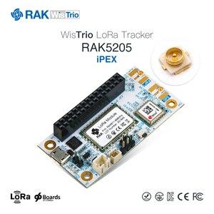 Image 2 - RAK5205 WisTrio LoRa Tracker modülü SX1276 LoRaWAN Modem sensör kurulu entegre GPS modülü LORA anten düşük güç Q159