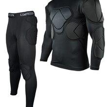 Новая Профессиональная униформа для вратаров, футбольное тренировочное оборудование, густая губка EVA для футбольного шлема, защитное снаря...