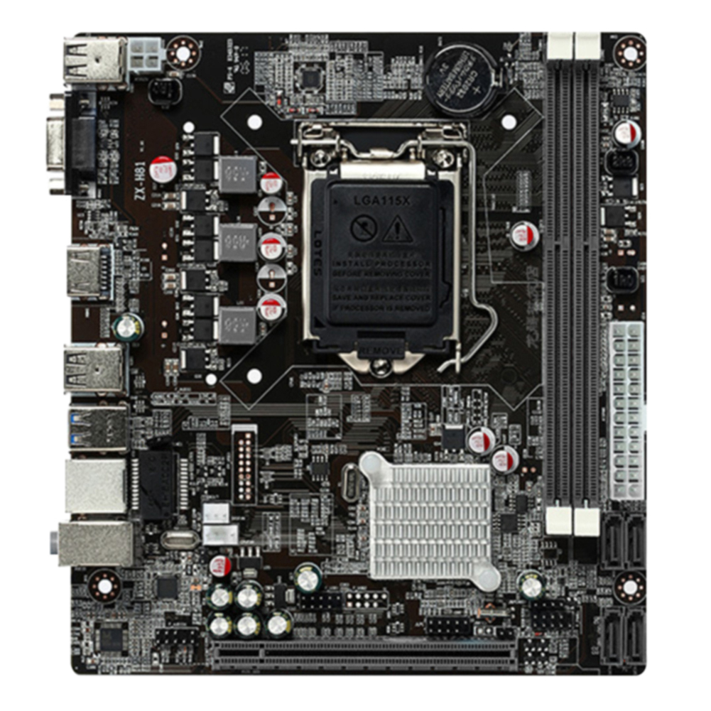For Intel H81 DDR3 Memory Control Board Computer For Desktop Motherboard LGA 1150 MicroATX Replacement Stable VGA / HDMI