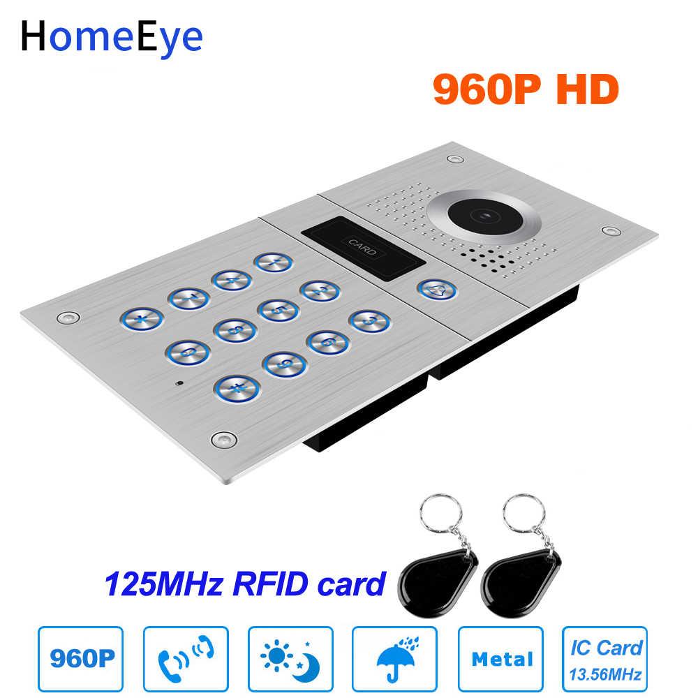 Tuya Smart APP Remote Control WIFI IP Video Door Phone Video Intercom Sistem Akses Kontrol Gerak Deteksi Kode Keypad ID kartu