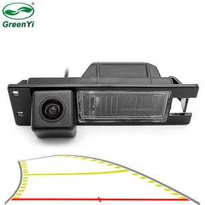 HD Vehicle Trajectory Reverse Backup Rear View Camera For Opel Astra H J Corsa Meriva Vectra Zafira Insignia FIAT Grande Buick