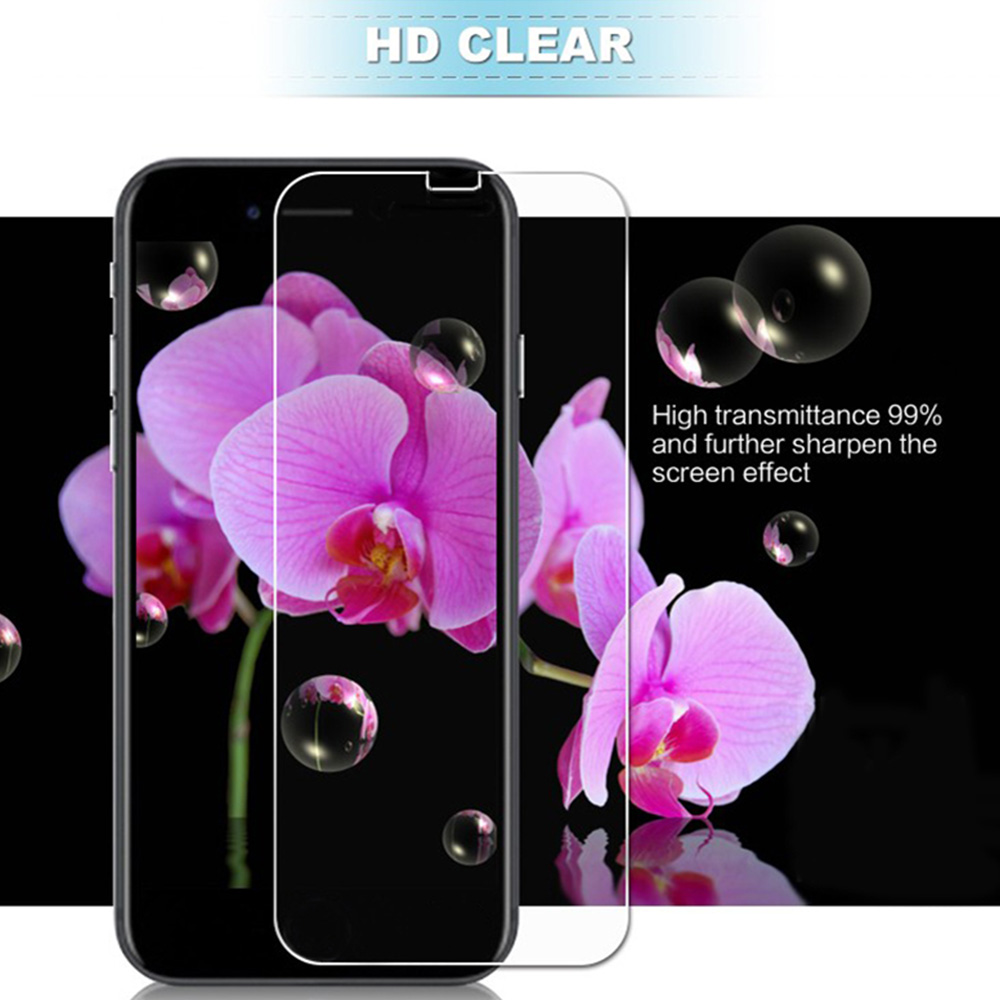 3pcTempered Glass For IPhone 5 5S 6 6S 7 8 Plus X XR XS 2pcs Screen Protector For IPhone 11 Pro Max Cover GLASS Sklo Phone Funda