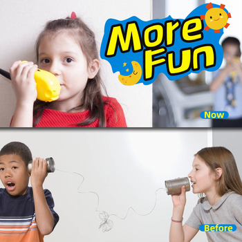 2Pcs Walkie Talkie Kids Radio Handheld mini Walkie-talkie for Children Communicator Flashlight Safe Power Two Way interphone 2