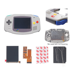 Image 3 - FOR GBA IPS V2 4 PIXELS IN 1 FULL VIEWING LCD KITS BACKLIGHT FOR GAMEBOY ADVANCE REPLACE 10 Levels Of Brightness screen