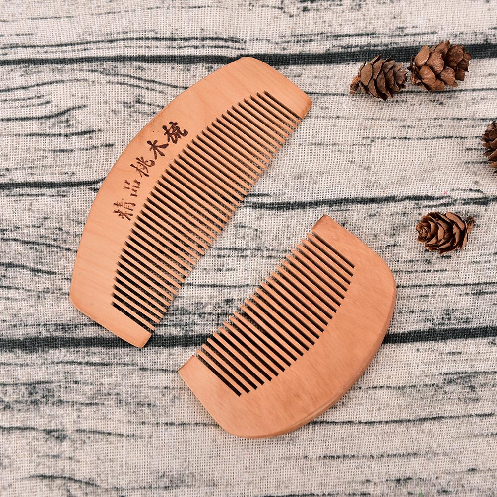 Sandalwood Anti-Static For Hair Beard And Mustache Combs Hair Brush Size S L Handmade Pocket Comb New Hot