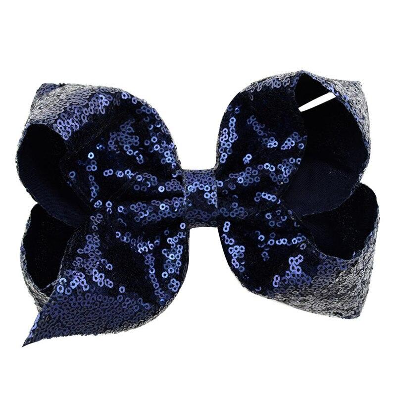 Купить с кэшбэком 8 Inch multicolor Sequin Butterfly Festival Hair Clip Lovely Baby Barrette Children Hairpin Headwear Accessories