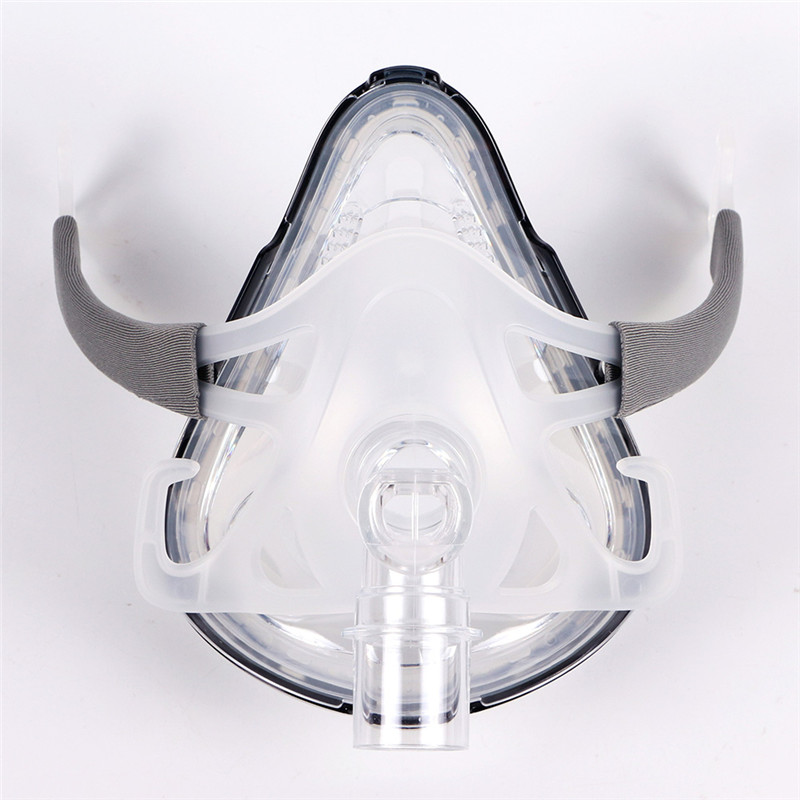 F1A Full Face CPAP Mask with Adjustable Headgear for Comfortable Respirator and Snoring Therapy 13
