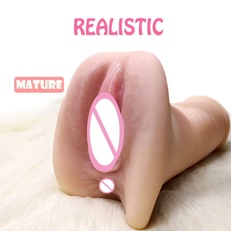 Sex Toys For Men Vagina Real Pussy Male Masturbator Realistic Vagina For Men Silicone Pocket Pussy Sex Virgin Sucking Cup Se