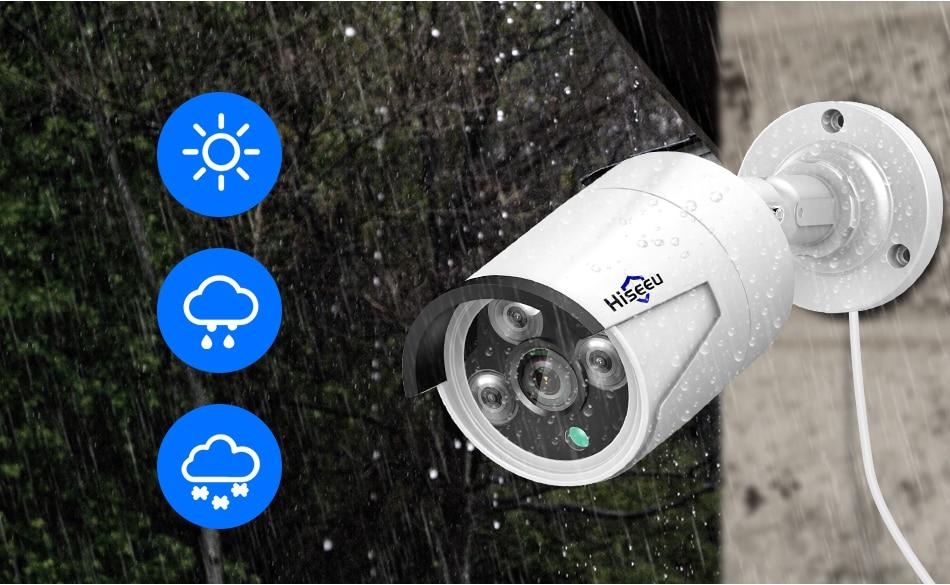 Hc8366f2571204d6181e14865578f9fe4C Hiseeu H.265 Audio Security IP Camera POE 4MP ONVIF Outdoor Waterproof IP66 CCTV Camera P2P Video Surveillance Home for POE NVR