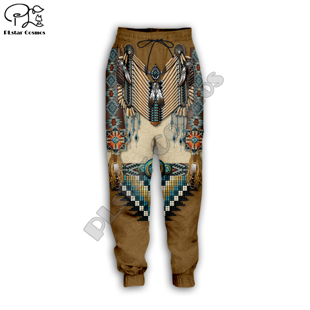 Black Native Indian 3D Pant Men Women New Fashion Jogger Sport Pant Hot Style