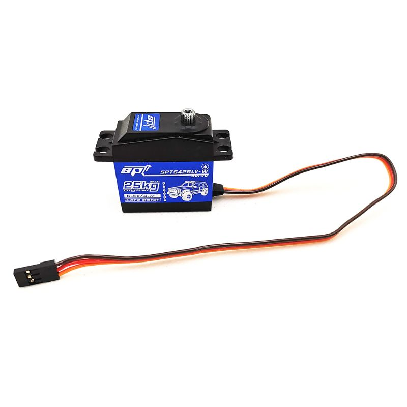 SPT5425LV-W 25KG 90 Degrees Digital Servo For 1:8 1:10 RC Car Boat Robot Toys for Children RC Car Parts Y51E