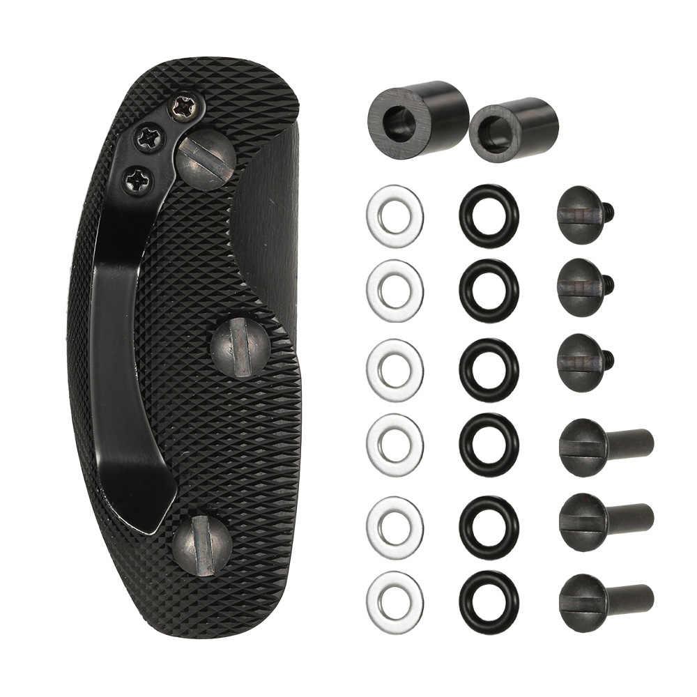 Компактный держатель для ключей из алюминиевого сплава, органайзер, папка с зажимом, многофункциональное устройство для карманного инструмента EDC